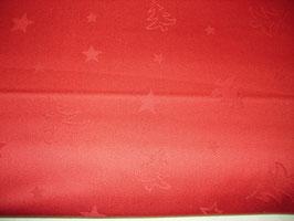 Weihnachtsstoff Tannenbaum mit Sternen von Rico