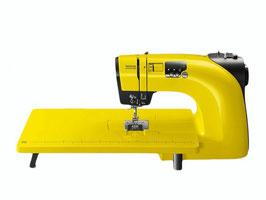 TOYOTA OEKAKI Renaissance Nähmaschine SONDEREDITION OEKAKI 50Y +Anschiebetisch Farbe: gelb