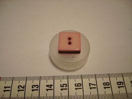 Knopf Flieder-schwarz Konfekt 15mm