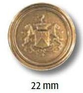 UK-Metallknopf mit Öse 22mm 15282