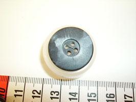 Knopf 4 Loch schwarz marine 23mm kschw22