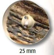 UK-Trachtenknöpfe Horn 25mm 25256