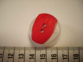 Knopf 2 Loch 25mm kr11