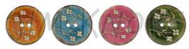 JK Kokosknopf Keramikeffekt  25mm 12915