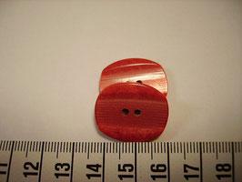 Knopf 2 Loch 23mm kr13