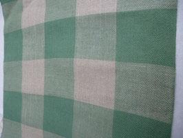 Leinenband karo grün weiss 2020-345