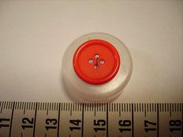 Knopf 4 Loch 17 mm kr22