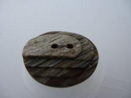 UK Terrassenknopf 2 Loch mit Struktur 23mm 45755 kbr40