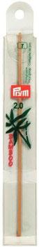 Woll - Häkelnadel Bambus 022 15cm