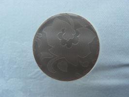 Knopf mit Öse mit Blütenmuster 23mm kra14