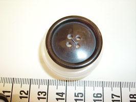 Knopf 4 Loch 28mm kschw6
