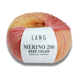 Merino 200 Bébé Color 50g