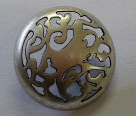 JK  Metallknopf mit Öse 22mm 12321