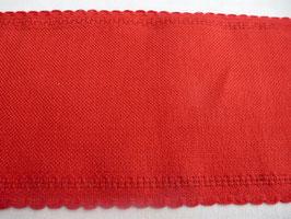 Leinenband rot Zweigart