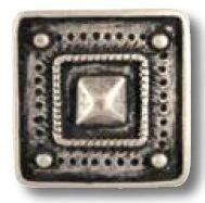 UK-Metallknopf mit Öse 34mm 43202