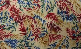 """Druckstoff""""Gräser/Bambus"""" aus der Kimono-Collektion von Hoffmann Fabrics , 110cm breit"""
