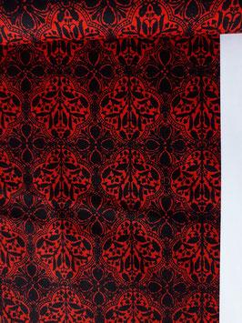 "Patchwork ""Muster schwarz/rot"""