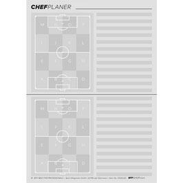 ChefPlaner 戦術メモ用紙 A4