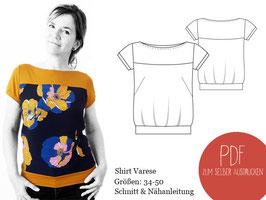 Schnittmuster Shirt Varese