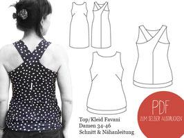 Favani - Trägertop / Kleid