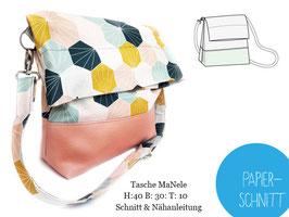 Papierschnitt Tasche Manele