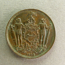 BRITISH NORTH BORNÉO - 1 Cent 1882 H