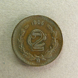 MEXIQUE - 2 Centavos 1906