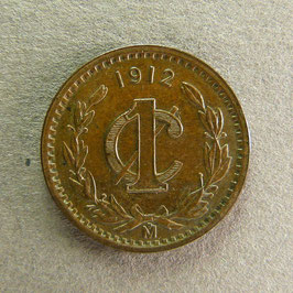 MEXIQUE - 1 Centavo 1912