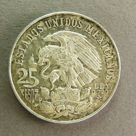MEXIQUE - 25 Pesos 1968