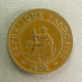 INDOCHINE - 1 Cent 1892
