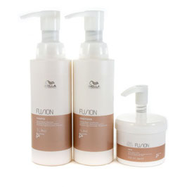 Intense Repair Shampoo Conditioner 1000ml and Mask 500ml Trio + PUMPS