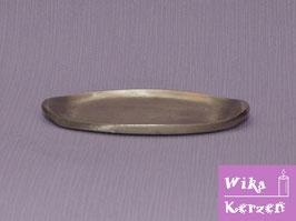 Kerzenteller Silber für Elipse 6,5 cm Kerze WKKT39