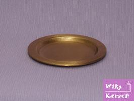 Kerzenteller Gold für Ø 6-8cm Kerze WKKT13