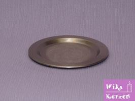 Kerzenteller Silber für Ø 6-8cm Kerze WKKT44