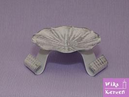 Kerzenständer Silber für Ø 6-8cm Kerze WKKT 10