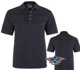 Polo Shirt dunkel
