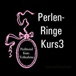 Perlen Ringe Kurs 3