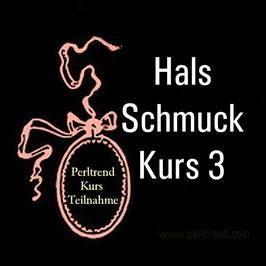 Hals Schmuck Kurs 3