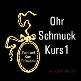 Ohr Schmuck Kurs 1