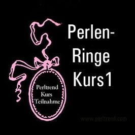 Perlen Ringe Kurs 1