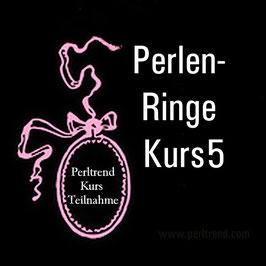 Perlen Ringe Kurs 5