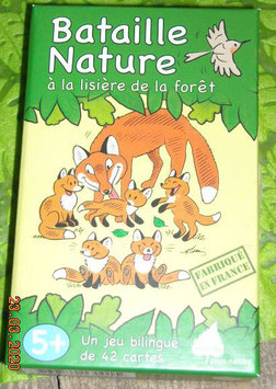 """Jeu """"Bataille Nature à la lisière de la forêt"""" - Editions Betula"""