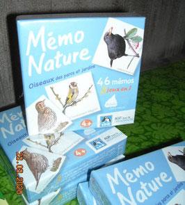 Mémo nature : oiseaux des parcs et jardins - Editions Betula