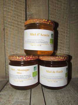 Miels en pot de 500g