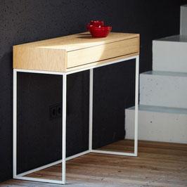 Konsolentisch mit Schublade
