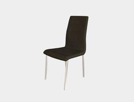Vierfuss Stuhl in Chrom glanz