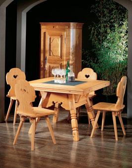 Klappen-Tisch Tanne Altholz