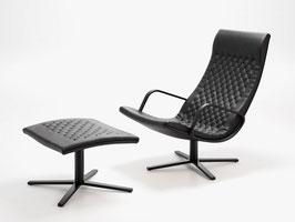 DS-51 Sessel inkl. Hocker