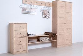 Garderobe Holz massiv