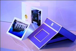 Cartes de souhaits sans texte emballage de 12 avec boîte cadeau